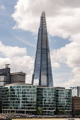 Photograph - Shard Building In London by Jacek Wojnarowski