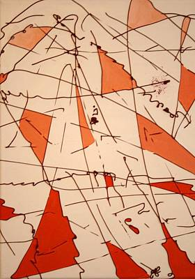 Shards Painting - Shards - Windblown by Jess Fuller