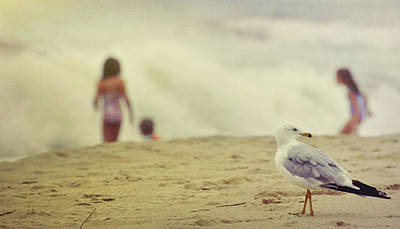 Share The Beach  Art Print by JAMART Photography