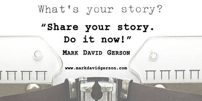 Digital Art - Share Your Story by Mark David Gerson