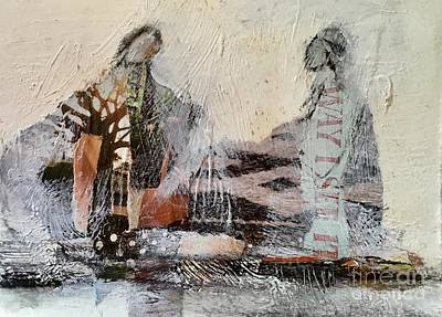 Mixed Media - Shared Past by Gail Butters Cohen