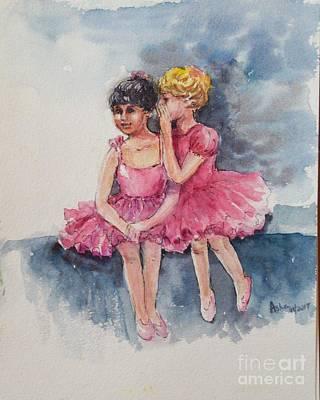 Painting - Shared Secrets by Asha Sudhaker Shenoy