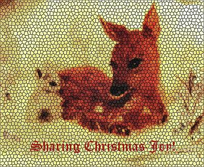 Painting - Sharing Christmas Joy by Hazel Holland
