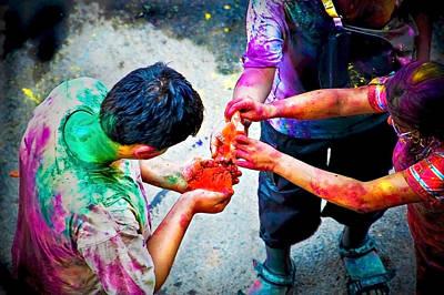 Sharing Colors Sharing Happiness Original