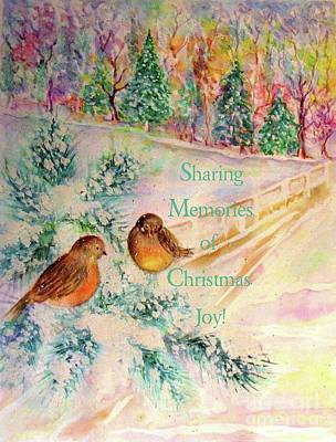Painting - Sharing Memories by Hazel Holland