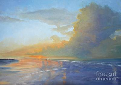 Painting - Sharing Sunrise by Keith Wilkie