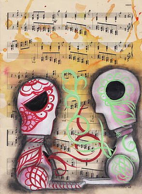 Painting - Sharing The Soul by Abril Andrade Griffith