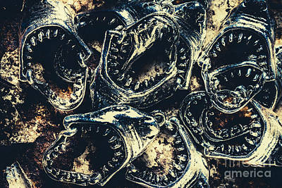 Jewellery Photograph - Shark Jaws by Jorgo Photography - Wall Art Gallery