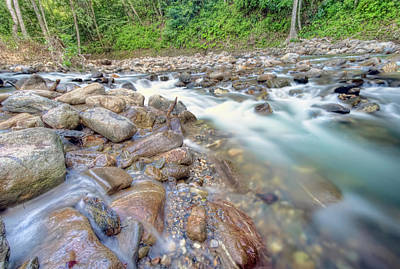 Photograph - Shark River, Trinidad by Nadia Sanowar