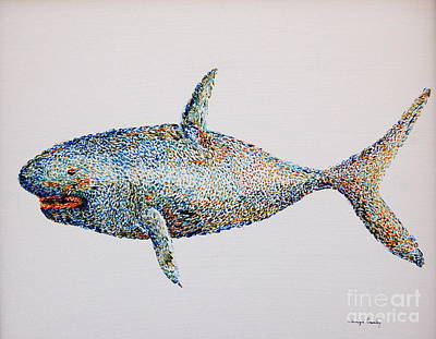 Painting - Shark by Tamyra Crossley