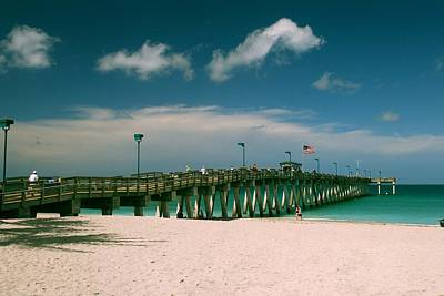 Photograph - Sharkey's Pier  by Gary Wonning