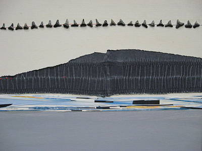 Sharks Legacy Art Print by Gail Hinchen
