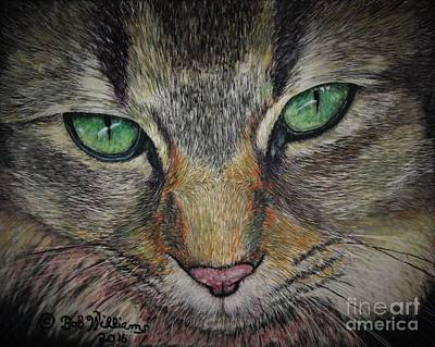 Painting - Sharna Eyes by Bob Williams