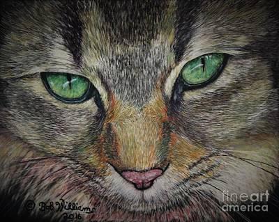 Sharna Eyes Art Print
