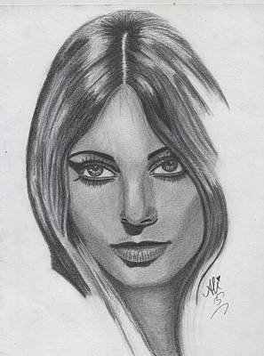Saba Painting - Sharon Tate by Bobby Dar
