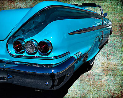 Photograph - Sharp Chevy by Larry Bishop