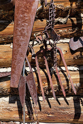Photograph - Sharp Rusty Objects by Kathleen Bishop