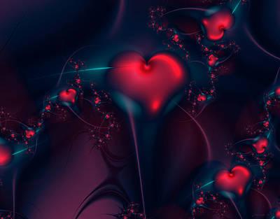 Candy Digital Art - Sharpened Love by Lauren Goia