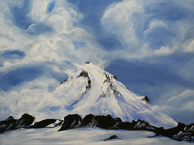 Kelso Painting - Shasta by Bonnie Kelso