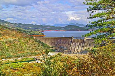 Photograph - Shasta Dam by Joyce Dickens