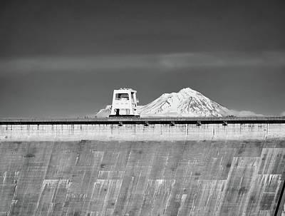 Shasta Dam  Art Print