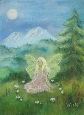 Painting - Shasta Fairy by Bernadette Wulf