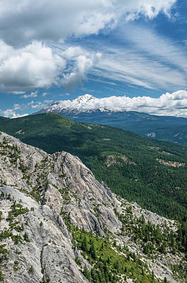 Photograph - Shasta From The Crags 1 by Greg Nyquist