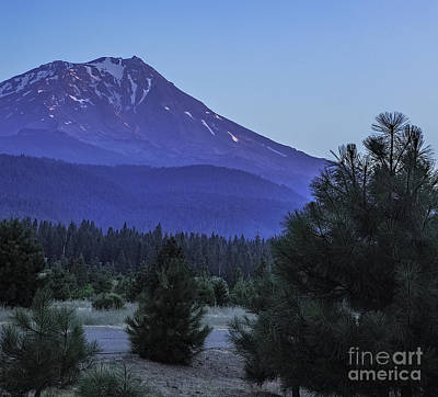 Outlook Photograph - Shasta In The Afternoon by Nancy Marie Ricketts