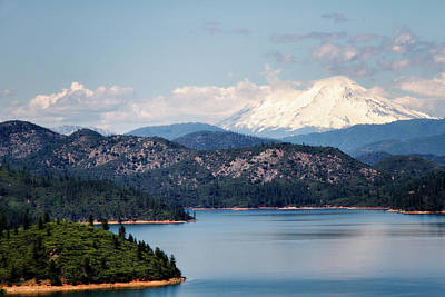 Photograph - Shasta Lake by Lana Trussell