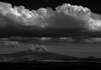 Photograph - Shasta On July 17 by John Norman Stewart