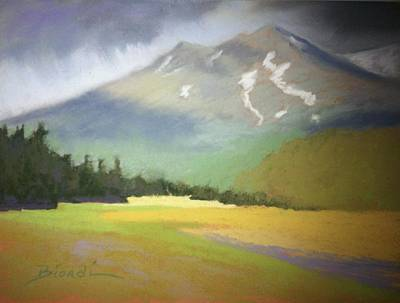 Painting - Shasta View II by Janet Biondi