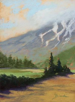 Painting - Shasta View by Janet Biondi