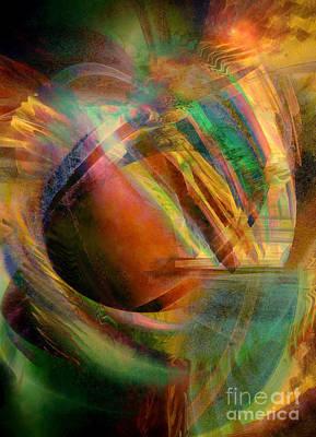 Digital Art - Shatter 6 by Helene Kippert