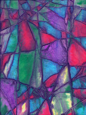 Mixed Media - Shattered 2 by Wayne Potrafka