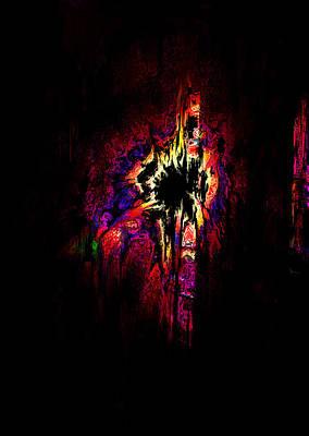 Psychological Digital Art - Shattered Dreams by Rachel Christine Nowicki