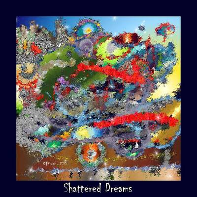 Shattered Dreams Art Print
