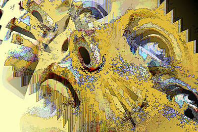 Shattered Illusions Art Print