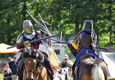 Photograph - Shattered Joust by Mike Martin