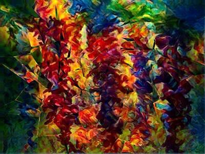 Digital Art - Shattered by Megan Walsh