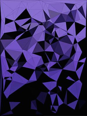Digital Art - Shattered by Susan Maxwell Schmidt