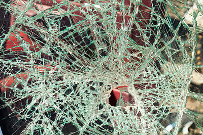 Photograph - Shattered Two by Fran Riley