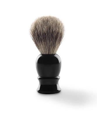 Shaving Brush Art Print by Mark Wagoner