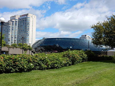 Photograph - Shaw Centre by Betty-Anne McDonald