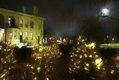 Digital Art - Shaw Gardens Glow by John Freidenberg