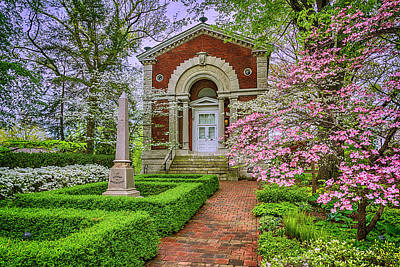 Photograph - Shaw Museum And Library -1859- 7r2_dsc6360_04172017 by Greg Kluempers