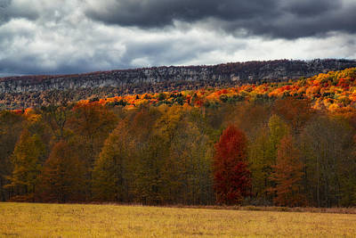 Photograph - Shawangunk Mountains Hudson Valley Ny by Susan Candelario