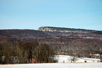 Photograph - Shawangunk Ridge In December by Jeff Severson