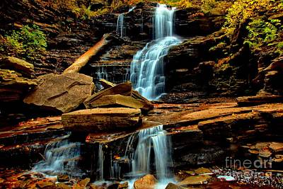 Photograph - Shawnee Falls by Matthew Winn