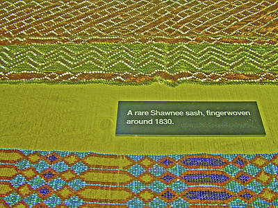 Photograph - Shawnee Sash In Native American Museum In Grand Tetons National Park, Wyoming  by Ruth Hager