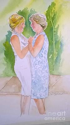 Painting - Shawn's Wedding by Jill Morris